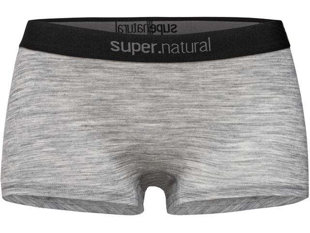 super.natural Base 175 Boyfriend Hipster Women, ash melange